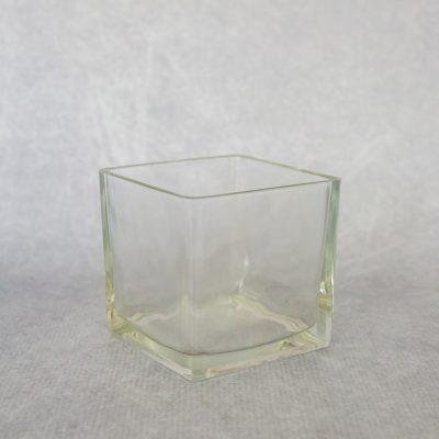 10x10 Square Glass Vase
