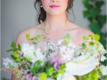 Navy, Blushing Bride, and Gold Styled Shoot