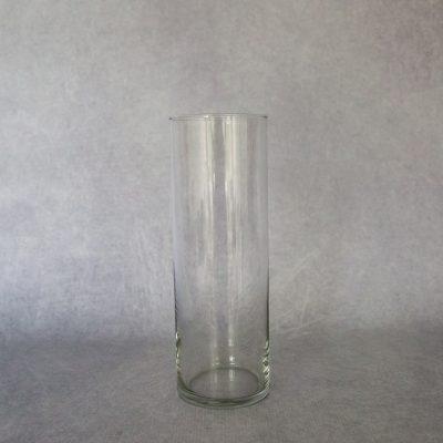 25cm Cylinder Glass Vase