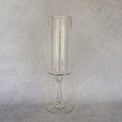 40cm Cylinder Footed Vase
