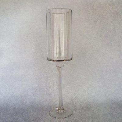 50cm Cylinder Footed Vase/Candle Holder