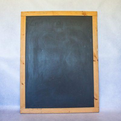 Wooden Framed Black Board