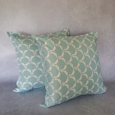 Duck Egg Scattered Cushion