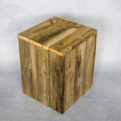 Small Wooden Plinth