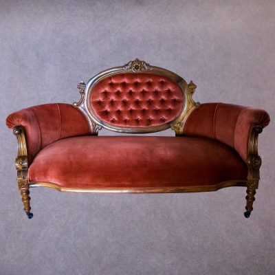 Pink Vintage Triple Couch