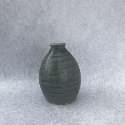 Grey Ceramic Bud Vase