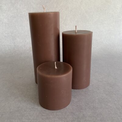 Burgundy Candle Hire